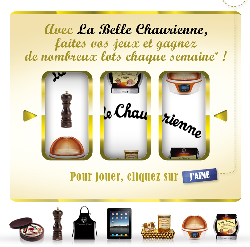 Application Facebook : Belle Chaurienne