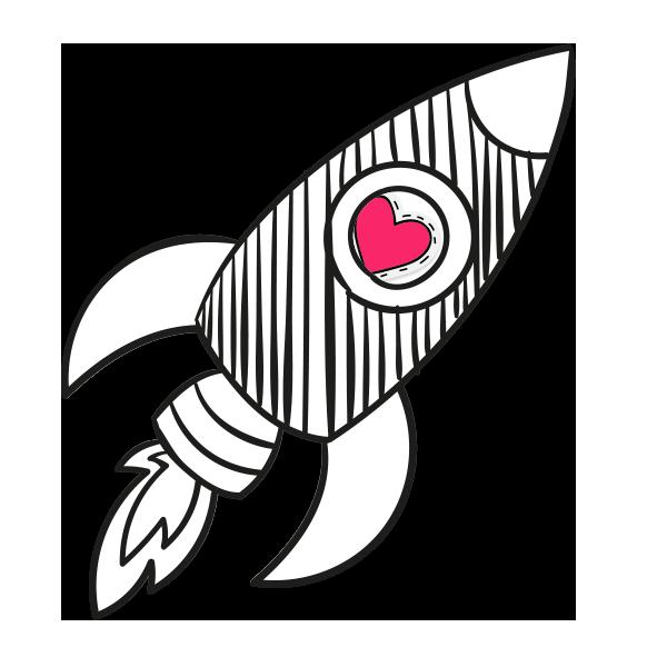 Une jolie fusée