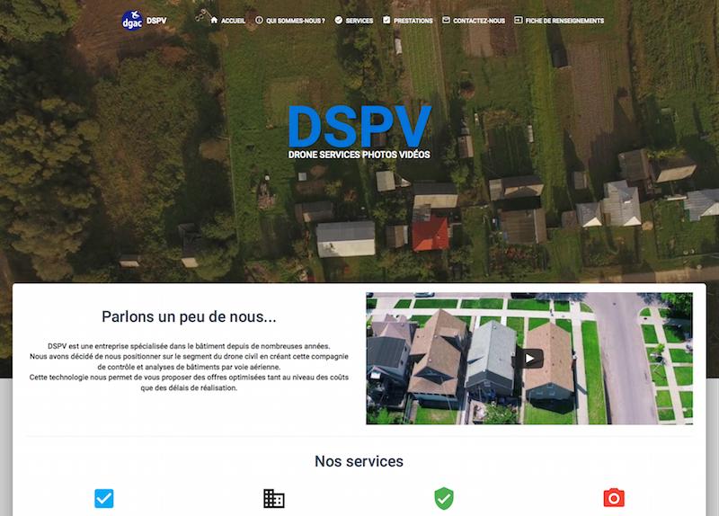 Site vitrine DSPV